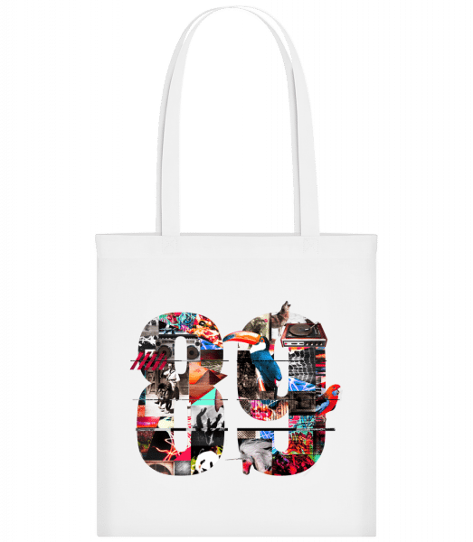89 - Carrier Bag - White - Vorn