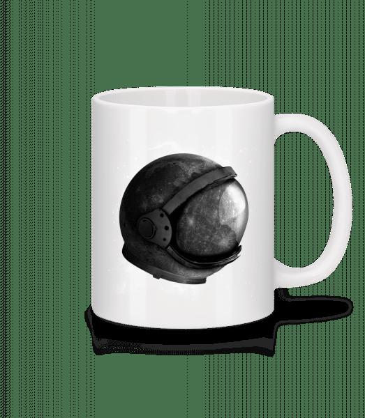 Astronaut' Helmet - Mug - White - Vorn