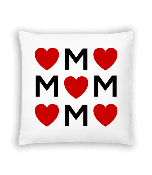 Mother Love - Cushion - White - Vorn