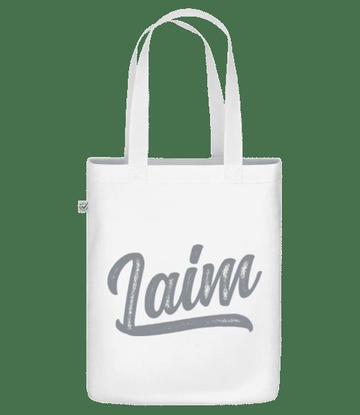 Laim Swoosh - Bio Tasche - Weiß - Vorn