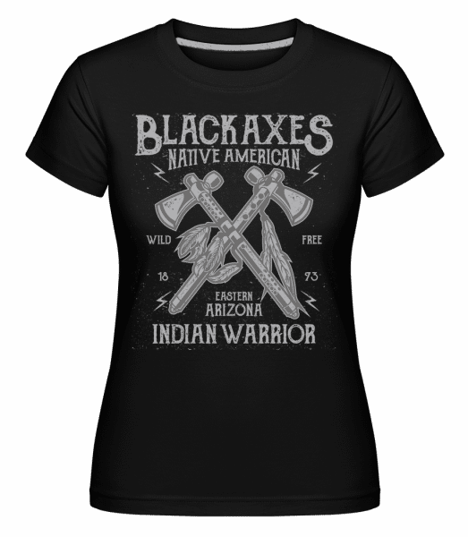 Black Axes -  Shirtinator Women's T-Shirt - Black - Vorn
