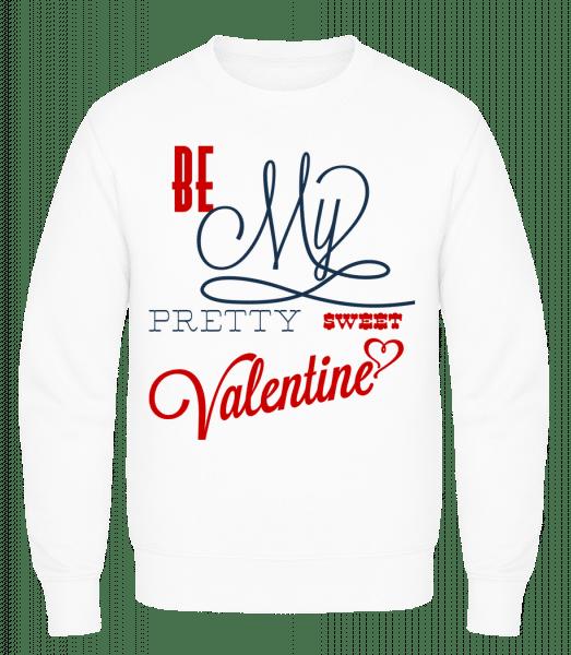 Be My Valentine - Men's Sweatshirt AWDis - White - Vorn