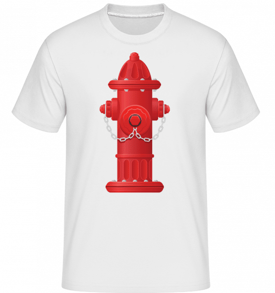 Fire Protection Symbol -  T-Shirt Shirtinator homme - Blanc - Vorn