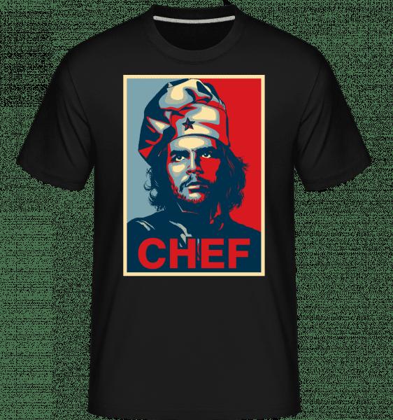 Chef -  Shirtinator Men's T-Shirt - Black - Front