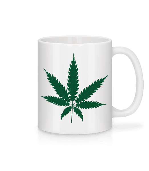 Cannabis - Mug - White - Vorn