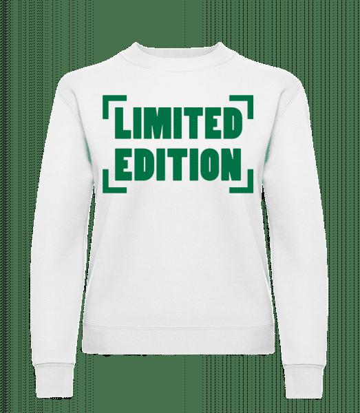Limited Edition - Classic Ladies' Set-In Sweatshirt - White - Vorn