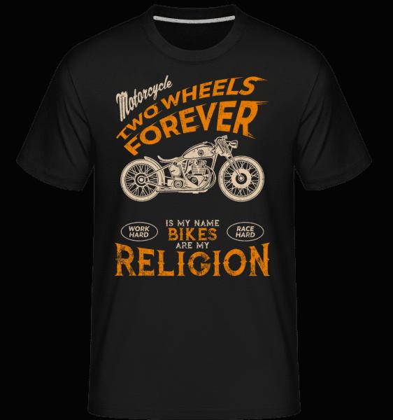 Bikes Are My Religion -  Shirtinator Men's T-Shirt - Black - Vorn