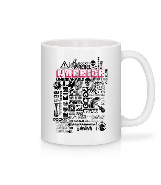 Pop Culture - Mug - White - Vorn