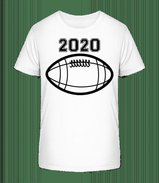 Football 2020 - Kid's Premium Bio T-Shirt - White - Vorn