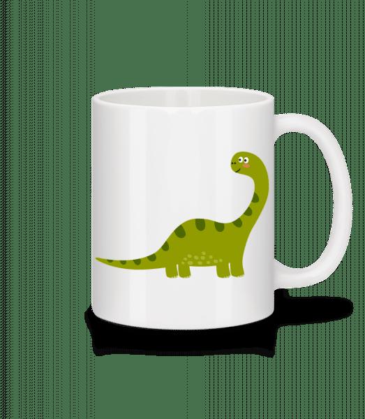 Sauropoden - Keramický hrnek - Bílá - Napřed