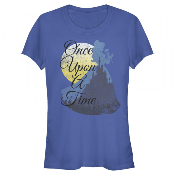 Great Wide Somewhere Belle - Disney Beauty & the Beast - Women's T-Shirt - Royal blue - Front