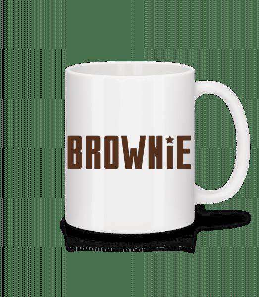 Brownie - Mug - White - Vorn