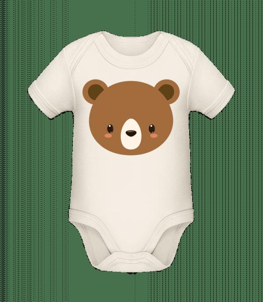 Bear Comic - Organic Baby Body - Cream - Vorn