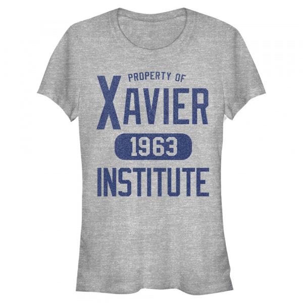 Varsity Shirt Xavier Institute - Marvel X-Men - Women's T-Shirt - Heather grey - Front