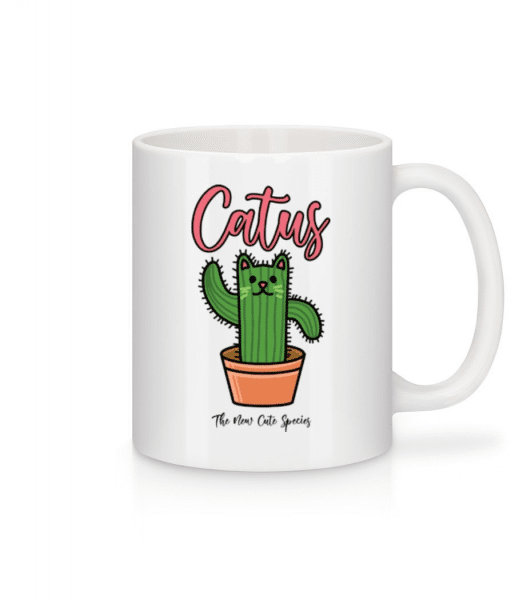 Catus 2 - Mug - White - Front