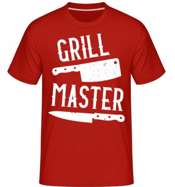 Grillmaster -  Shirtinator Men's T-Shirt - Red - Front