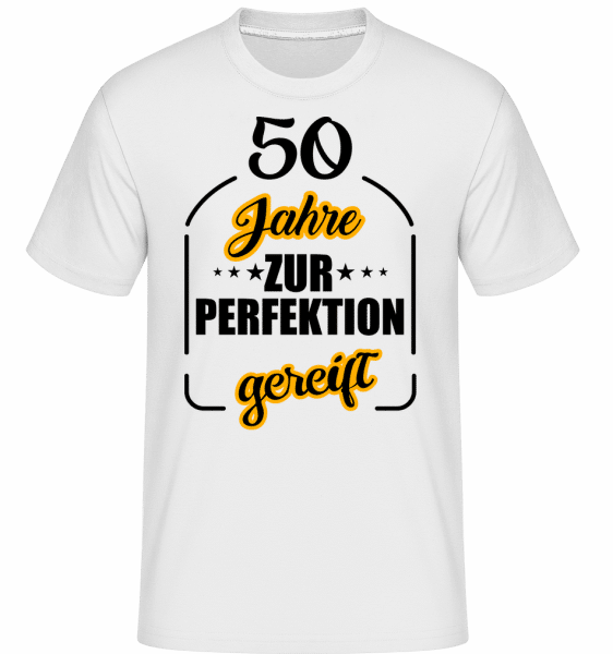 50 Jahre Gereift - Shirtinator Männer T-Shirt - Weiß - Vorn