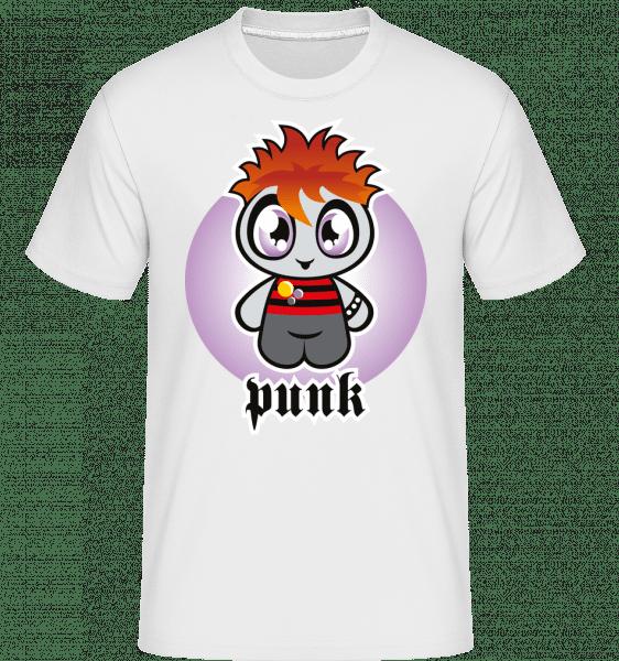 Punk -  Shirtinator Men's T-Shirt - White - Front