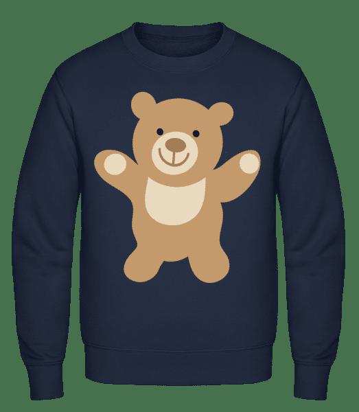 Kids Comic - Bear - Classic Set-In Sweatshirt - Navy - Vorn