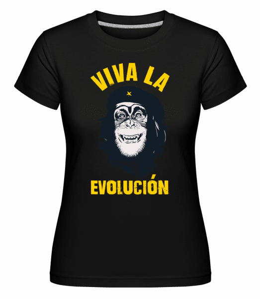 Viva La Evolucion -  Shirtinator Women's T-Shirt - Black - Vorn