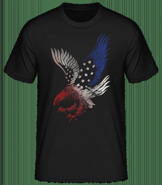 American Eagle - Men's Basic T-Shirt - Black - Front