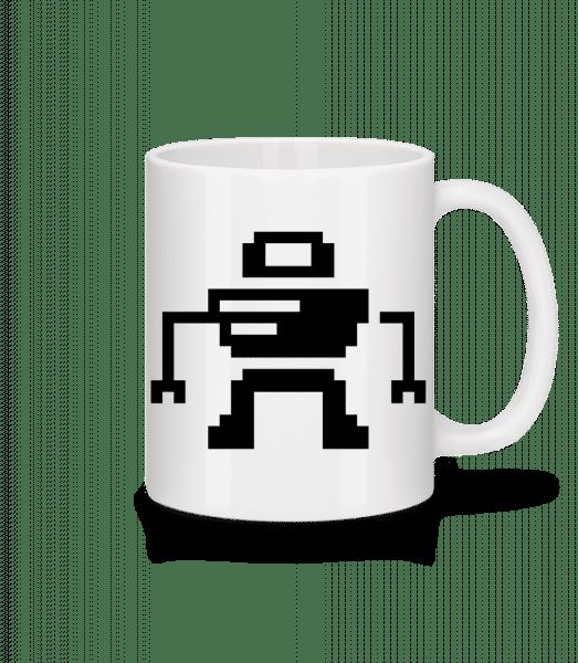 Pixel Robot - Mug - White - Front