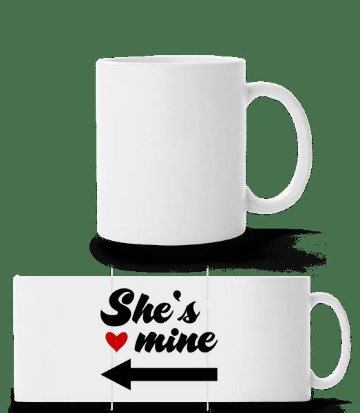 She Is Mine - Panorama Mug - White - Vorn
