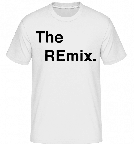 The REmix -  Shirtinator Men's T-Shirt - White - Vorn