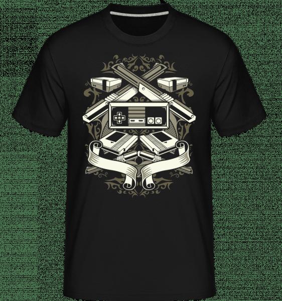 Video Games -  Shirtinator Men's T-Shirt - Black - Front