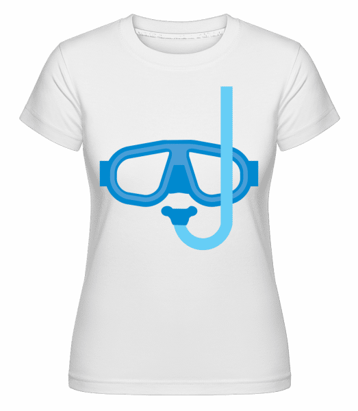 Diving Equipment -  Shirtinator Women's T-Shirt - White - Front