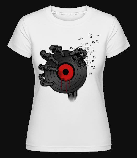Record Of Death -  Shirtinator Women's T-Shirt - White - Vorn