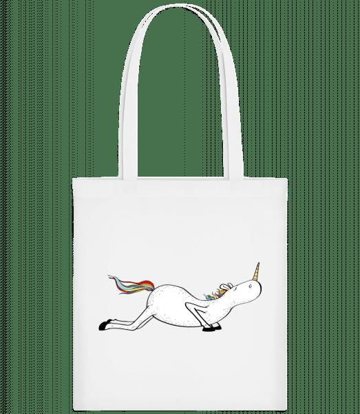 Yoga Unicorn Pushups - Carrier Bag - White - Vorn