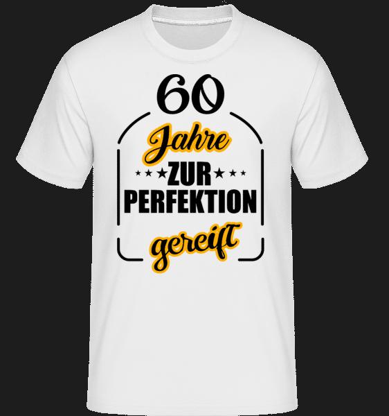 60 Jahre Gereift - Shirtinator Männer T-Shirt - Weiß - Vorn