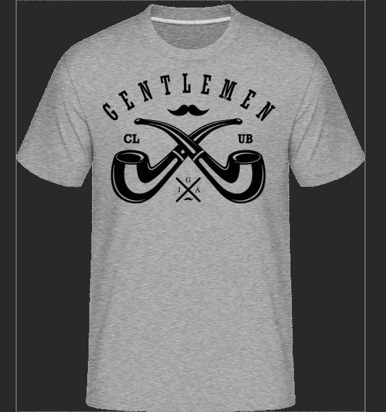 Gentlemen Club -  Shirtinator Men's T-Shirt - Heather grey - Vorn
