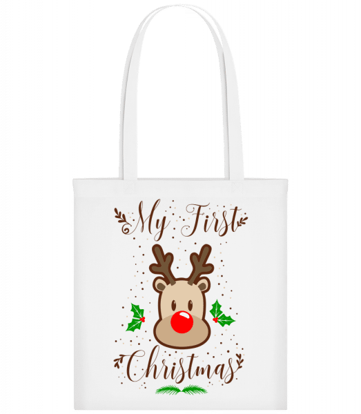 My First Christmas - Carrier Bag - White - Vorn