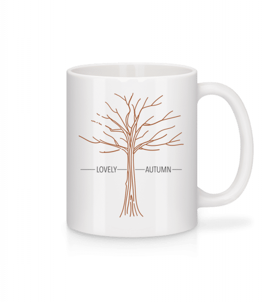 Lovely Autumn - Mug - White - Vorn