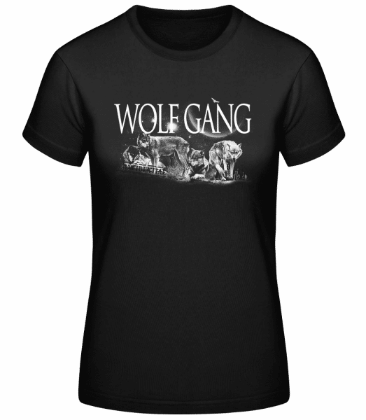 Wolf Gang - Basic T-Shirt - Black - Vorn