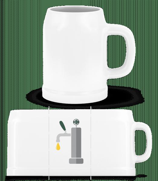 Tap - Beer Mug - White - Vorn