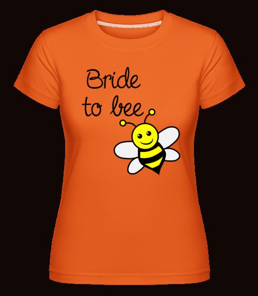 Bride To Bee -  T-shirt Shirtinator femme - Orange - Vorn