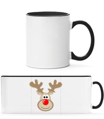 Reindeer Logo - Two-toned Mug - White - Vorn