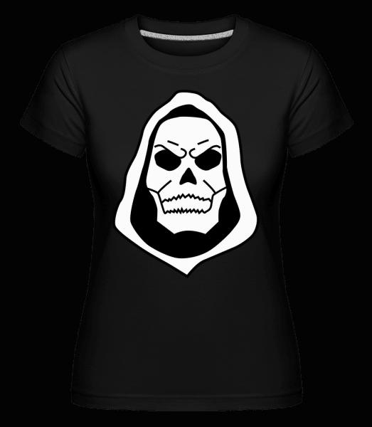Dead Skull -  Shirtinator Women's T-Shirt - Black - Front