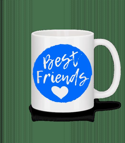 Best Friends Love - Mug - White - Vorn