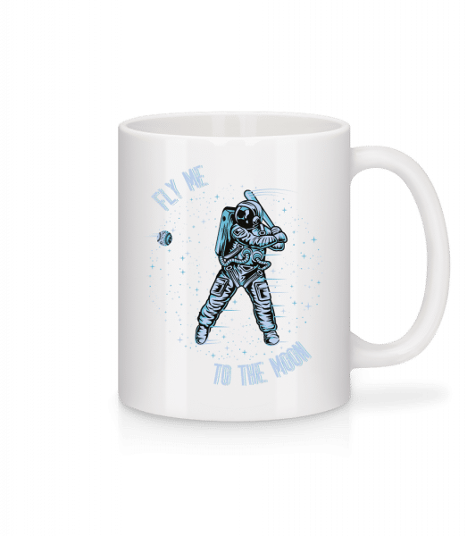 Fly Me To The Moon - Mug - White - Vorn