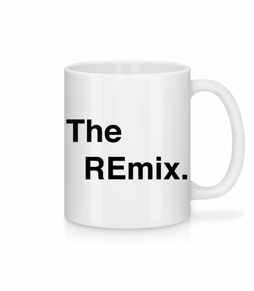 The REmix - Mug en céramique blanc - Blanc - Devant