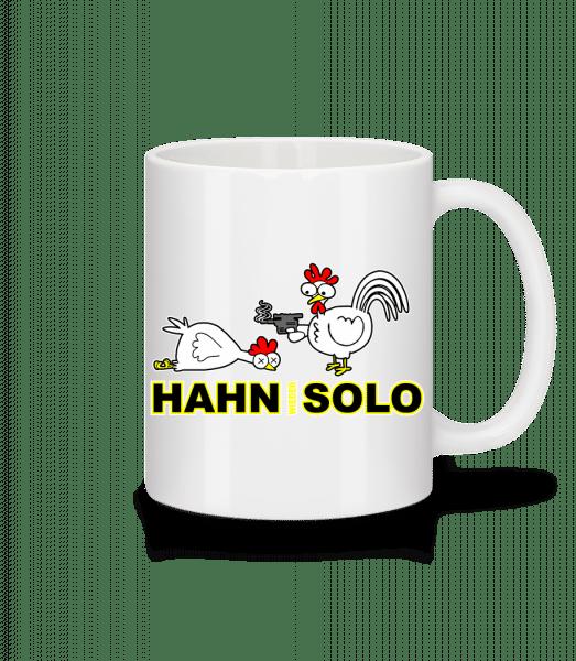 Hahn Wieder Solo - Tasse - Weiß - Vorn