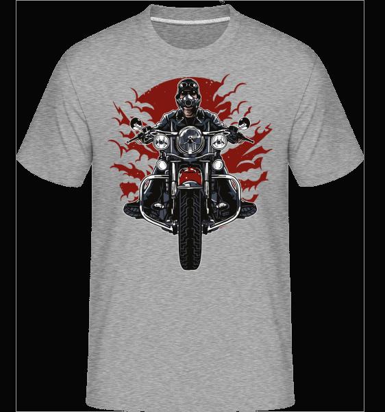 Wild Biker -  Shirtinator Men's T-Shirt - Heather grey - Vorn