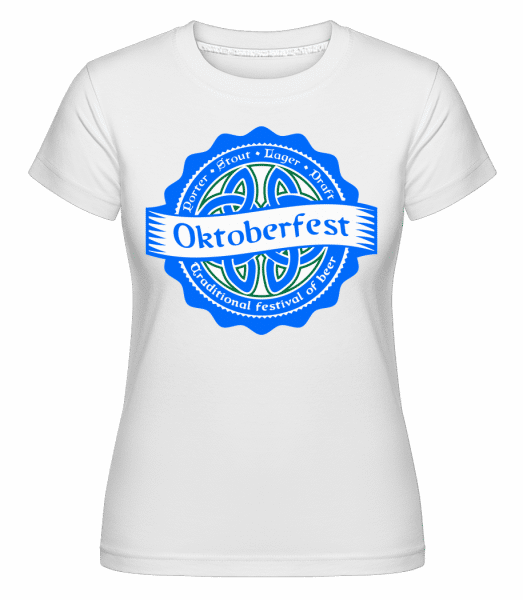 Traditional Festival Of Beer -  Shirtinator Women's T-Shirt - White - Vorn