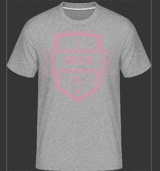 Perfekt Gereift 1999 - Shirtinator Männer T-Shirt - Grau meliert - Vorn