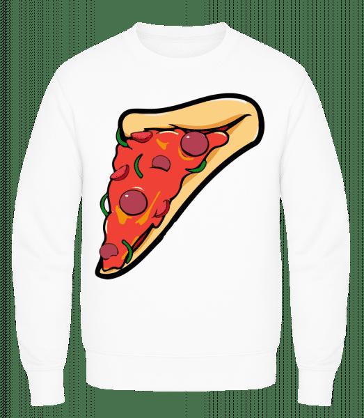 Pizza Part - Men's Sweatshirt AWDis - White - Vorn