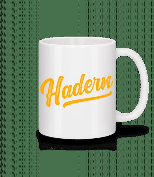 Hadern Swoosh - Tasse - Weiß - Vorn